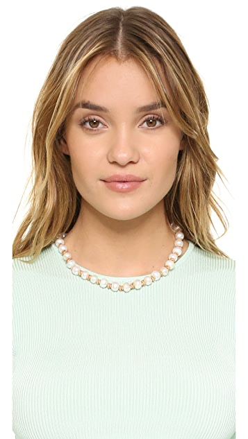 Lead Short Freshwater Cultured Pearl Necklace