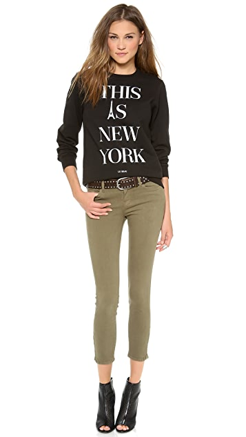 Le Beau This Is New York Sweatshirt