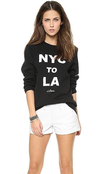 Le Beau NYC to LA Sweatshirt