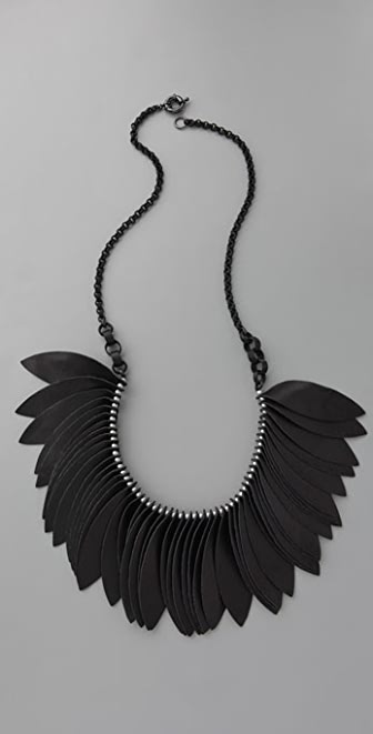 Lee Angel Jewelry Martine Leather Necklace