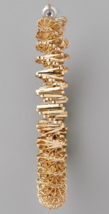 Lee Angel Jewelry Chunky Hoop Earrings