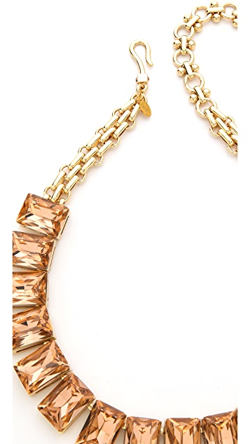 Lee Angel Jewelry Crystal Stone Necklace
