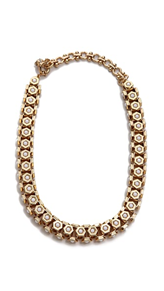 Lee Angel Jewelry Octagon Howlite Necklace