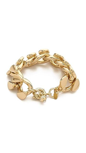 Lee Angel Jewelry Curb Chain Bracelet
