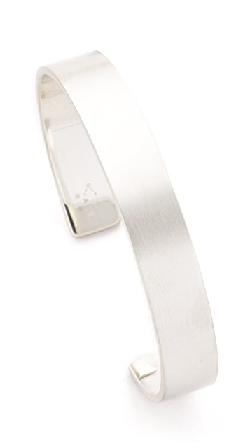 Le Gramme Le 33 Grammes Brushed Silver Cuff