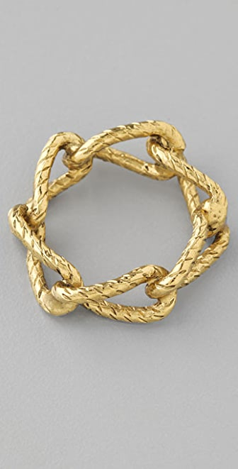 Rachel Leigh Jewelry Interlocking Chain Ring