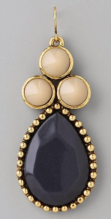 Rachel Leigh Jewelry Millies Vintage Denim Cluster Earrings