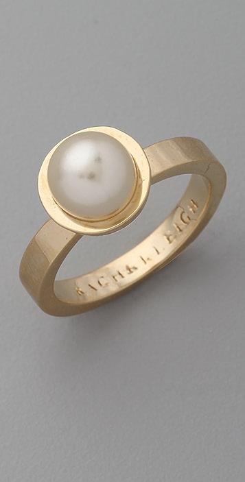 Rachel Leigh Jewelry Society Single Pearl Ring