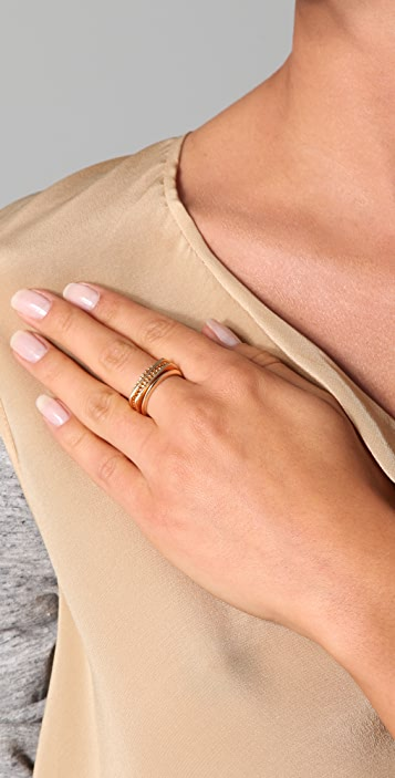 Rachel Leigh Jewelry Set of 5 Tryst Rings