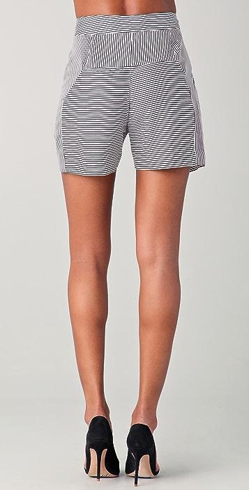 Lela Rose Pleated Shorts