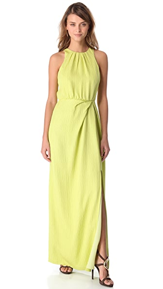 Lela Rose Open Back Dress