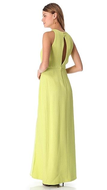 Lela Rose Open Back Dress