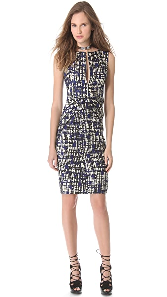 Lela Rose Sleeveless Sheath Dress