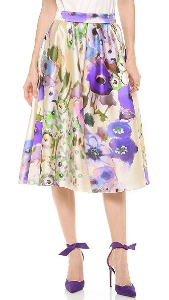 Lela Rose Tea Length Full Skirt