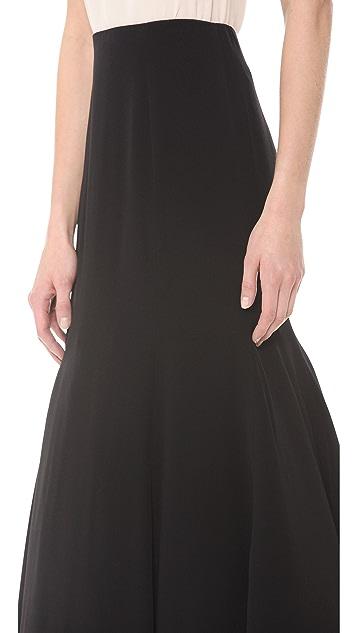 Lela Rose Fit & Flare Skirt