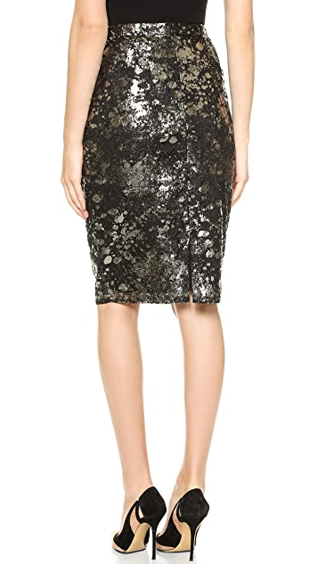 Lela Rose Straight Skirt
