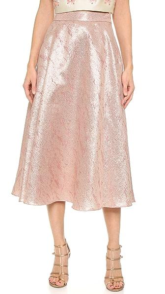 Glamorous circle skirt
