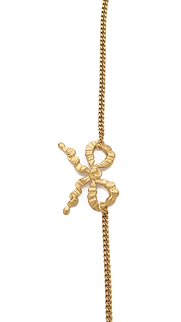 LELET NY Bow & Chain Headband
