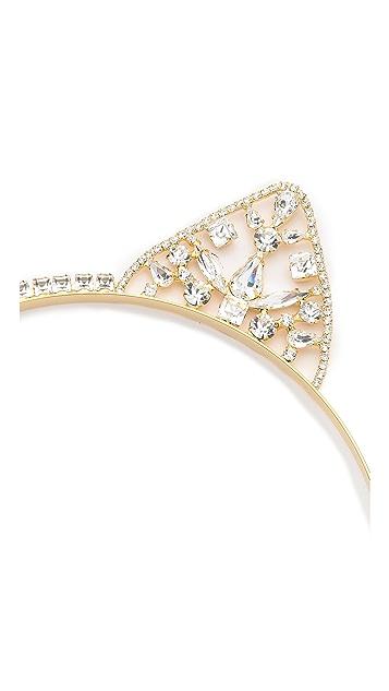 LELET NY Kat Swarovski Crystal Headband