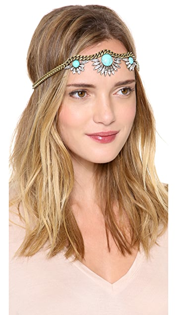 LELET NY Triple Galactic Crystal Headpiece