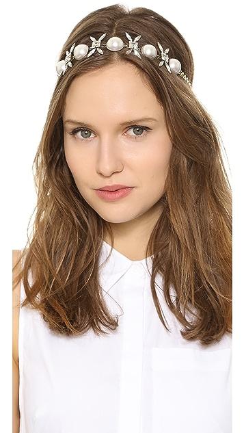 LELET NY XO Crystal Headwrap