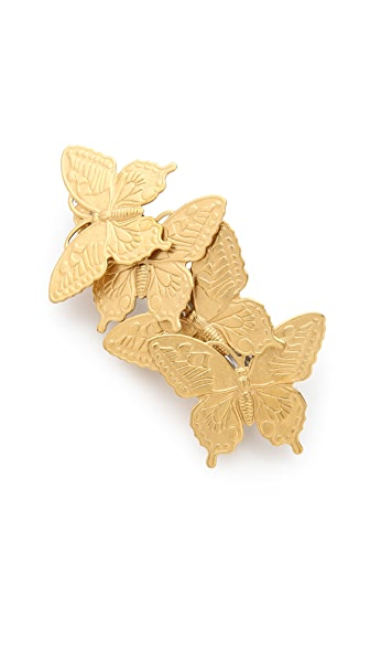 LELET NY Butterfly French Barrette