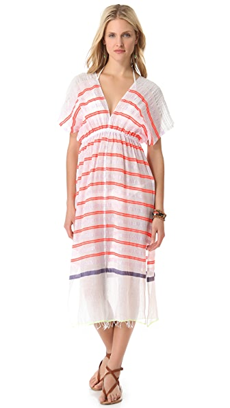 Lemlem Dehna Patio Cover Up Dress