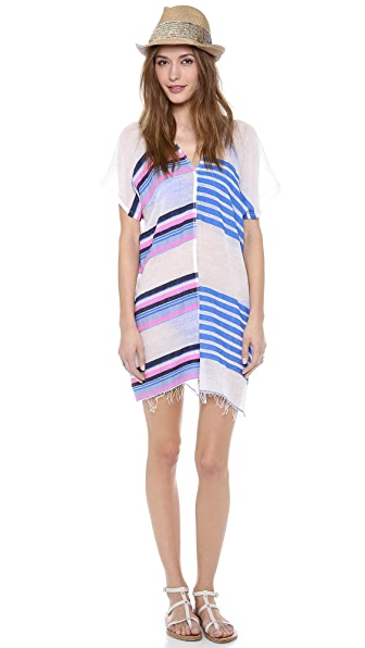 Lemlem Lilly Split Cover Up Dress
