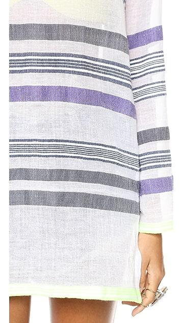 Lemlem Tara Gauze Hooded Tunic