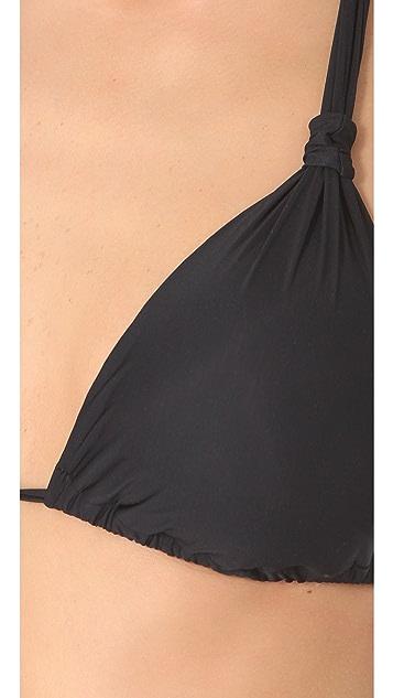 Lenny Niemeyer Adjustable Halter Bikini Top