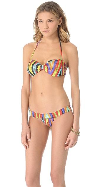 Lenny Niemeyer Twist Bandeau Bikini Top