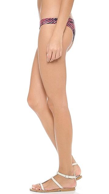 Lenny Niemeyer Raffia Bikini Bottoms