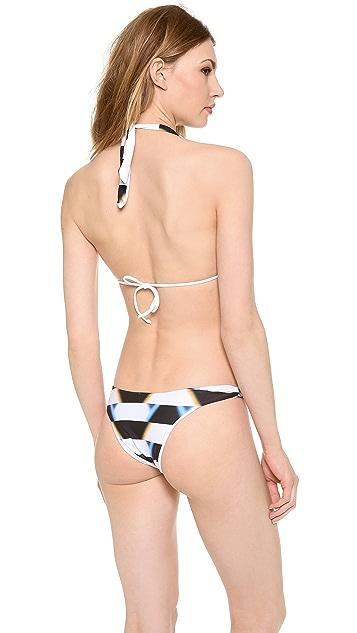 Lenny Niemeyer Reversible Halter Bikini Top