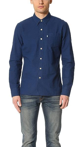 Levi's Red Tab Pinnacle Sunset Selvedge 1 Pocket Shirt