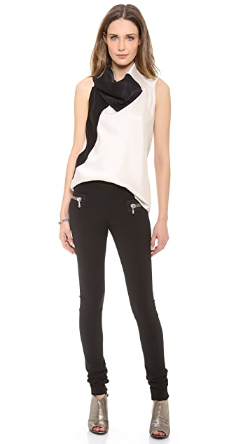 Les Chiffoniers Classic Zipper Leggings