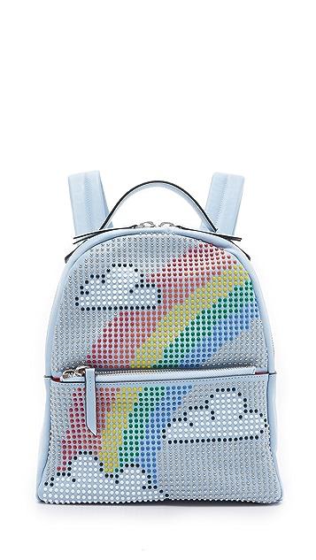 les petits joueurs Mini Mick Rainbow Backpack
