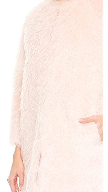 Leur Logette Steiff Combed Mohair Coat