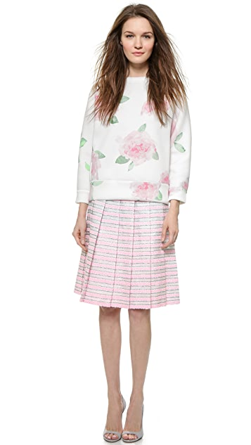 Leur Logette Mahlia Kent Pleated Skirt