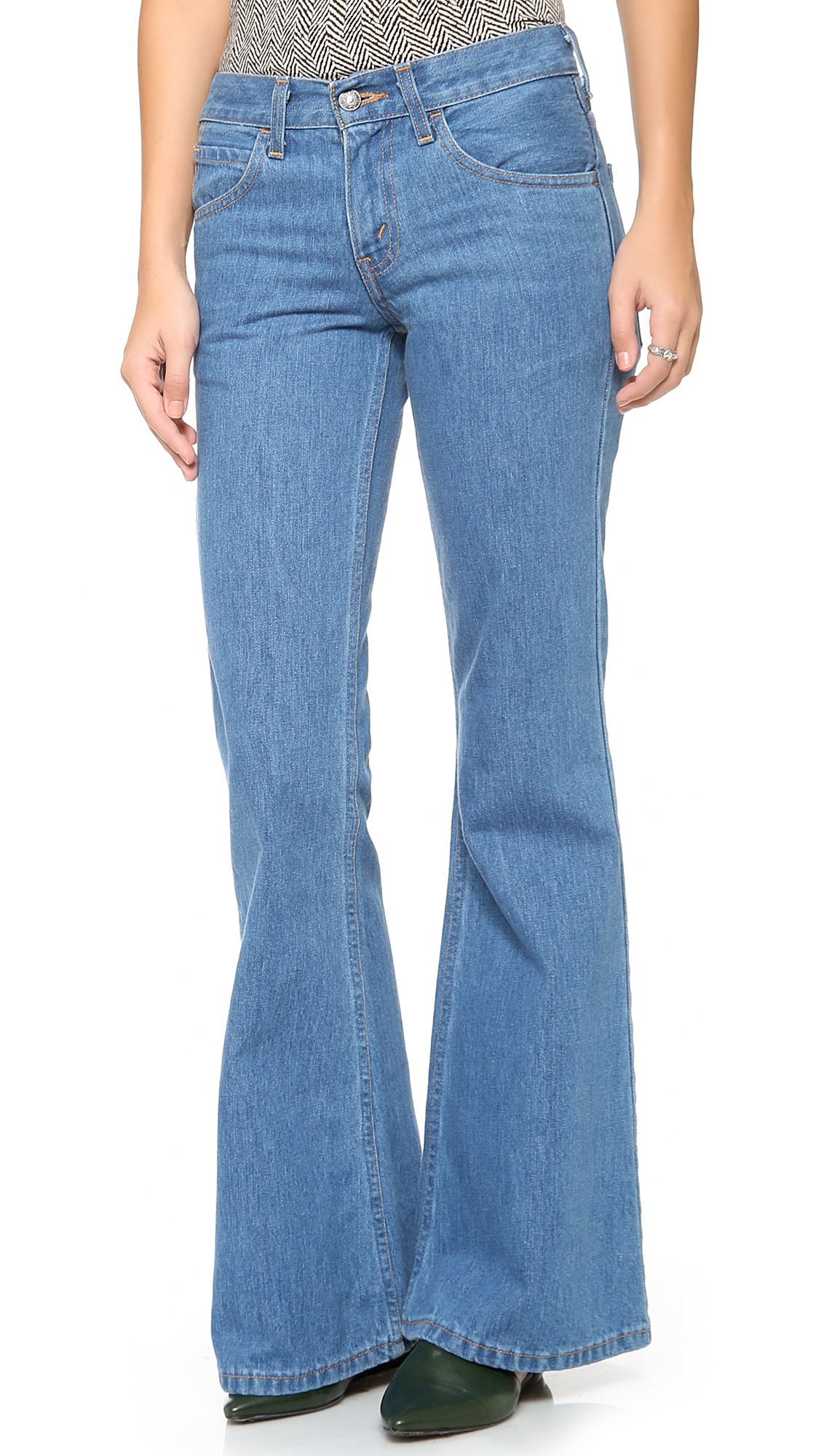 Levi's Orange Tab 1970s 684 Bell Bottom Jeans | SHOPBOP Extra 25 ...