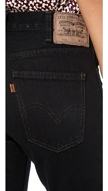 Levi's Orange Tab 1970s 606 Jeans