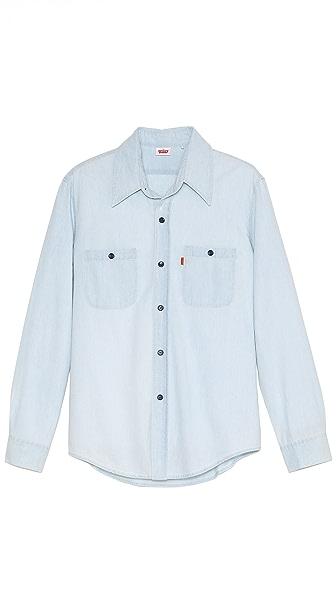 Levi's 1960s Bleach Chambray Sport Shirt