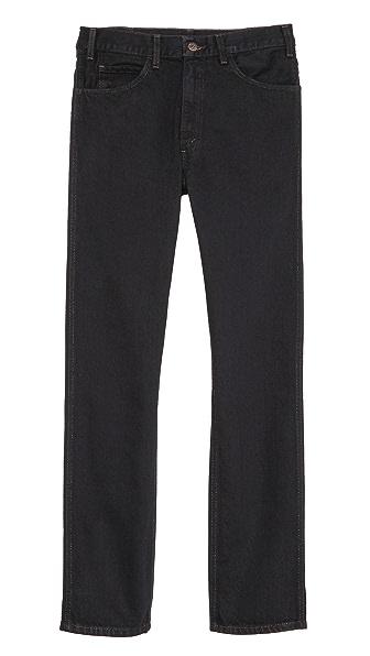 Levi's Black Overdye 1960s 606 Jeans