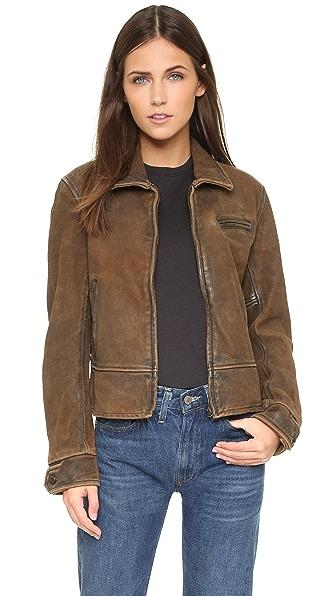 Levi's 1930s Leather Jacket