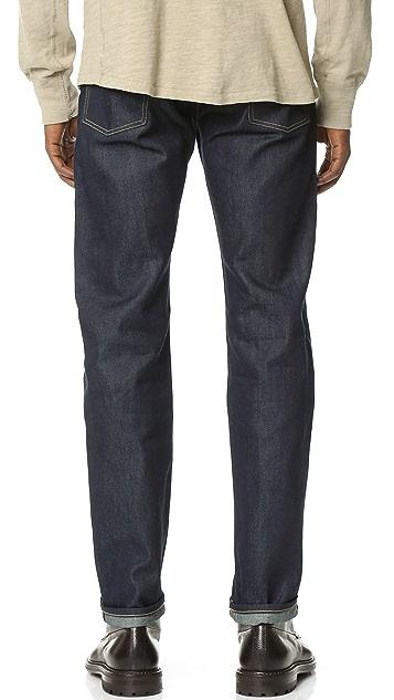 Levi's Made & Crafted Ruler Indigo Rigid Jeans
