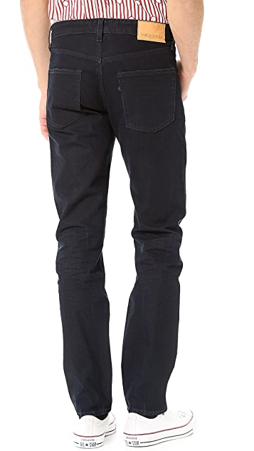 Levi's Made & Crafted Needle Stormy Black Wash Jeans