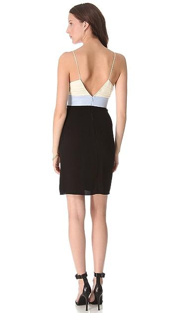 L'AGENCE Double V Dress