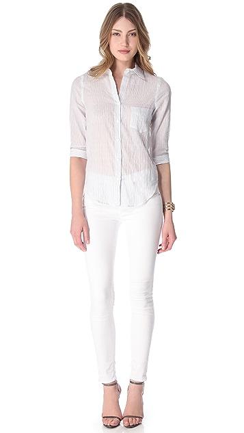 L'AGENCE 3/4 Sleeve Shirt