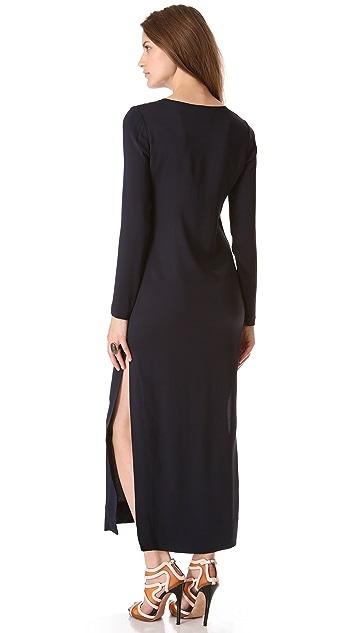 L'AGENCE Long Tee Dress