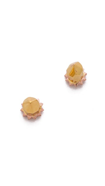 L'AGENCE Point Stud Earrings