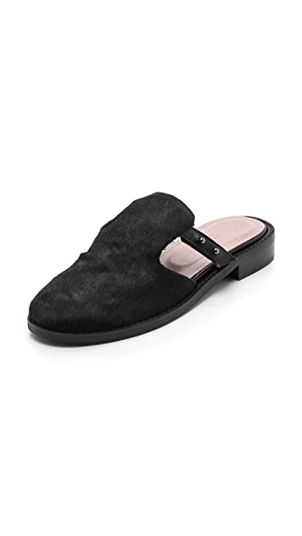 L'AGENCE Mens Sole Slippers